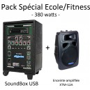 Pack Spécial Ecole / Fitness 380 Watts